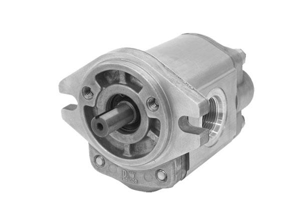 Hydraulic Gear Pump Design : Prince hydraulics sp a series hydraulic single gear